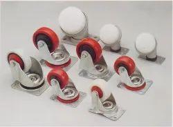 Castor Wheels For Sliver Cans - Draw Frames