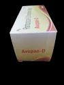 AVUPAN-D Pantaprazole40mg + Domeperidone 10mg 10X10