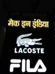 3D Led Letters Signboard