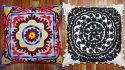 Suznai Embroidered Handmade Cushion Covers