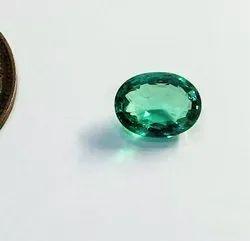 Natural Zambian Emerald Gemstone, Oval AAA+ Cut Emerald Top Quality, Stunning Rare 100% Natural