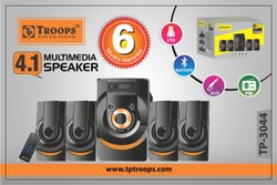 Troops 5.1 Multimedia Speaker System, 220V