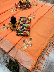 Pure Chanderi Cotton Sarees