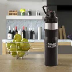 Nirlon Standard Satinless Steel Sipper Bottle 750ml