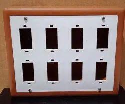 K&K 8 WAY PVC Open Board, Size: 6X8