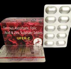 Ferrous Ascorbate & Folic Acid Zinc Tab
