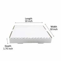 Plain White Pizza Boxes(10 inch)