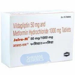 Jalra m Tablet ( Vildagliptin 50mg And Metformin Hydrochloride 1000mg )