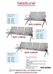 MS Three Seater Waiting Chairs