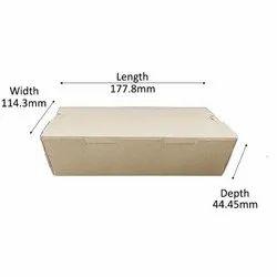 Kraft Paper Box For Food(750 ML)