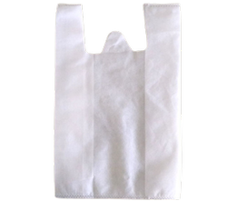 Plain Non Woven W Cut Bag, For Shopping