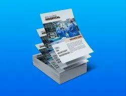 90 Gsm Art Paper Pamphlet Printing Service