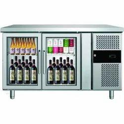 Two Door Back Bar Cooler/Chiller