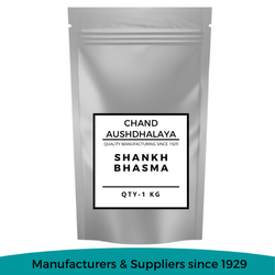 Shankh Bhasma, Chand Aushdhalaya, 1 Kg