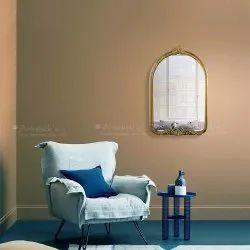 Artisticks Golden Decorative Wall Mirror, For Home