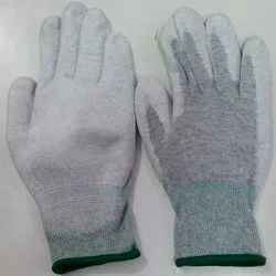 Esd Pu Coated Palm Fit Gloves