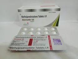 Methyl Predinisolone 16mg Tablets