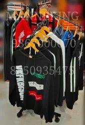 4 Way Waterfall Garment Display Rack