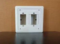 K&K 2 Way PVC Electrical Boxes