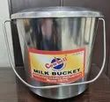 13 Ltr. Stainless Steel Milk Bucket with Lid