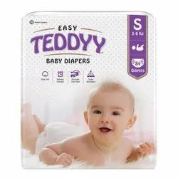 Cotton Teddyy Easy Baby Diaper, Age Group: 3-12 Months, Packaging Size: 84 Diapers
