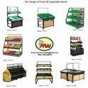 Vegetable Rack For Supermarket