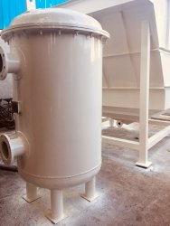 Vertical Pressure Sand Filter, Vessel Height: 1000-1200 mm, 400-600 mm