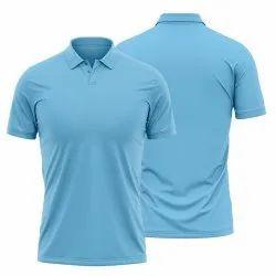 Sky Blue Polo T Shirt