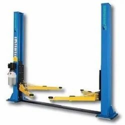 Hofmann Electro Hydraulic Two Post Lift With Base Frame