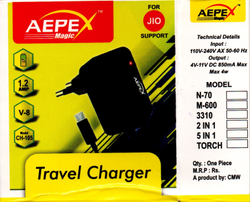 Mobile Charger, JIO AEPEX