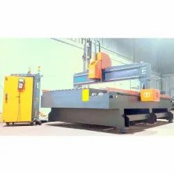 Mild Steel 4 Axis Rotary Carving Machine