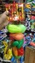 Mixed Colours Plastic Vegetables Toys