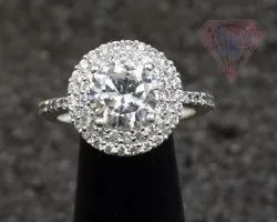 Cubic Zircon 925 Sterling Silver Ring