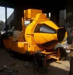 Electric Engine Reversible Concrete Mixer, Drum Capacity: 500 L
