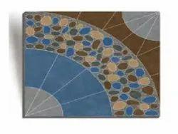 Clayborn Ceramic Heavy Duty Vitrified parking Tiles, Size: 300 X 300 mm