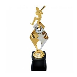 Brass Cricket Trophy