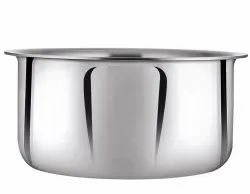 Silver Siddhi Triply Tope, Capacity: 1.5 Ltr