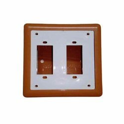 Brown And White Electrical Switch Board