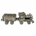 Metal Silver Plated Train For Showpiece & Corporate Gift