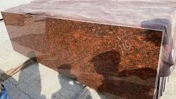 Polished Granite Slabs, For Flooring, Thickness: 17 mm
