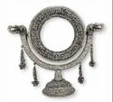Metal SiIver Plated Table Stand Mirror For Decoration & Corporate Gift