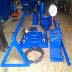 Analog Blue Plate Load Testing Machine, For Laboratory, Packaging Type: Box