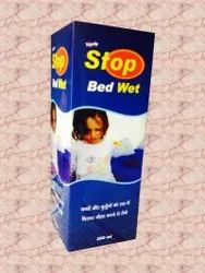 Herbal Orange 200 ml Tripushp Stop Bed Wet Syrup, Non prescription, Treatment: Natural