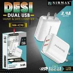 Ampere: 3.4 Dual USB Charger, Nirmax