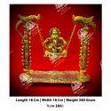 Metal Kala Ganesh Jhula God Statue