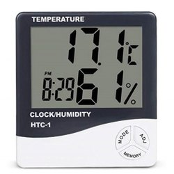 HTC-1 Digital Temperature Clock