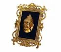 Gold Plated Buddha Photo Frame For Home Decor & Corporate Gift
