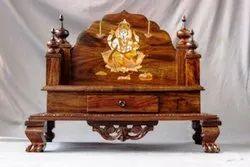 Hand Carved Wooden Mandasana