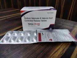 Valneu CR 200 Mg, For Epilepsy Or Seizure, Grade: Medicine