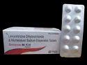 Simzine- M Kid Tab. Montelukast 4mg+ Levocetirizine 2.5mg Tablet ( Alu- Alu) 10x10
